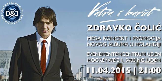 Mega koncert i promocija novog albuma u Holandiji – 11.04.2015.