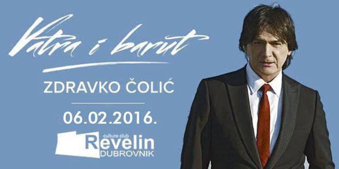 Zdravko Čolić uskoro u Dubrovniku