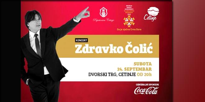 Zdravko u septembru na Gradskom Trgu na Cetinju