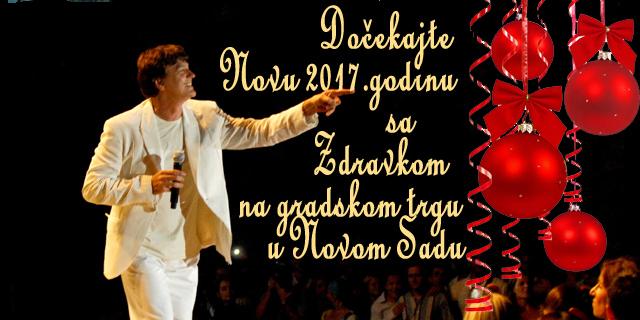 Doček Nove godine u Novom Sadu uz Zdravka Čolića