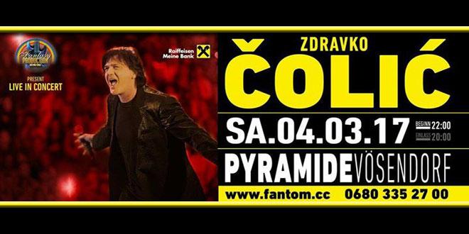 """""""Pyramide"""" u Vosendorfu ugostiće vas i Zdravka Čolića u martu"""