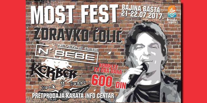 """Drinska regata 2017 """"Most Fest"""" Bajina Bašta"""